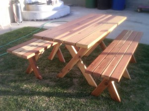 Rectangular-wood-picnic-table-plans